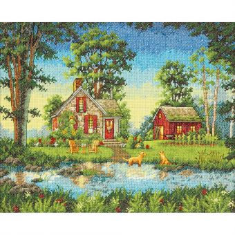 Dimensions Gold Collection - Summer Cottage