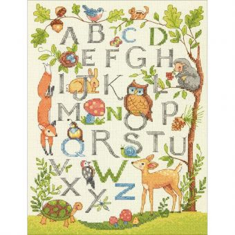 Dimensions - Wooded Alphabet