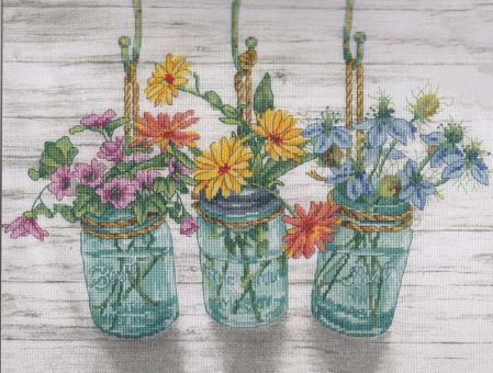 Dimensions Crafts - Flowering Jars