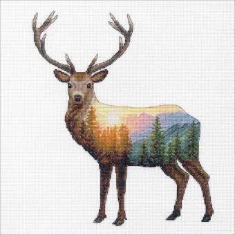 Dimensions Crafts - Deer Scene