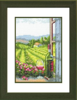 Dimensions Crafts - Wine With A View