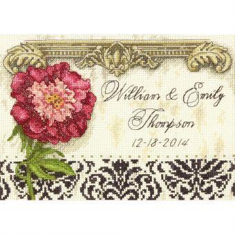 Dimensions Gold Petite - Elegant Wedding Record