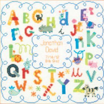 Dimensions - Alphabet Birth Record