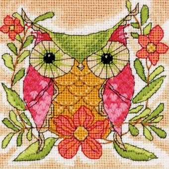 Dimensions Needlepoint - Whimsical Owl