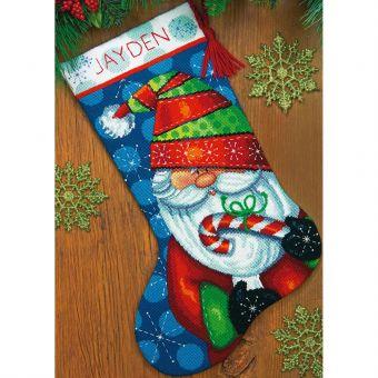 Dimensions Needlepoint - Sweet Santa Stocking