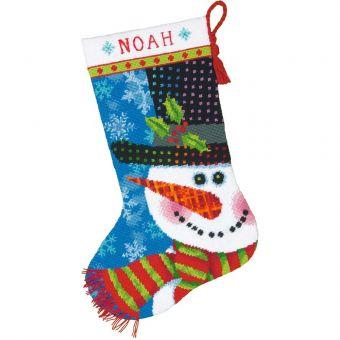 Dimensions Gobelin - Snowman Stocking