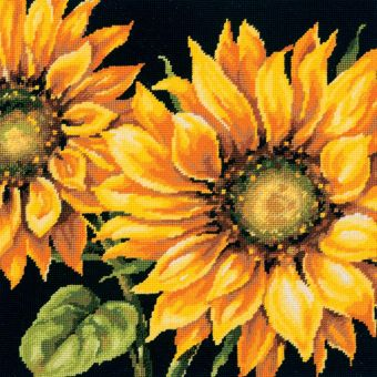 Dimensions Needlepoint - Dramatic Sunflower Needlepoint Kit