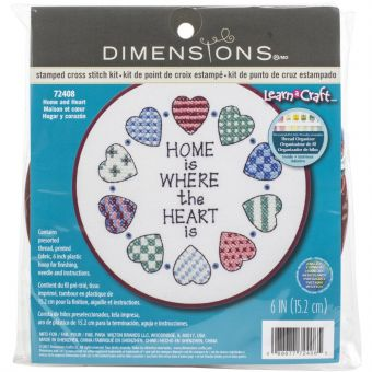 Dimensions Learn-A-Craft - Home & Heart