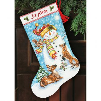 Dimensions Crafts Collection - Winter Friends Stocking