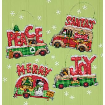 Dimensions Crafts - Holiday Truck