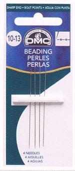 DMC - 4 Beading needles size: 10-13