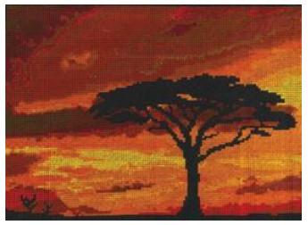 DMC - Savannah Sunset
