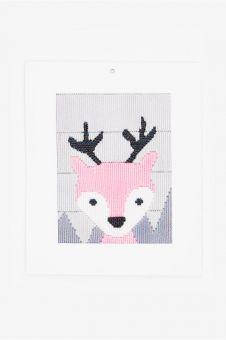 DMC - Little Reindeer Longstitch