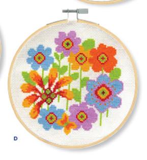 DMC - Bright Flowerheads