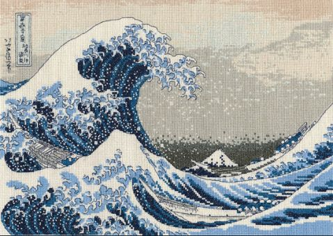 DMC - The great wave by Katsushika Hokusai