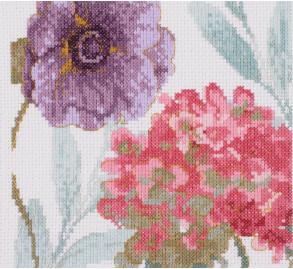 DMC - Lisa Audit Rainbow Flowers