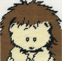 DMC Woodland Folk - Gobelin Starter Frankie Hedgehog