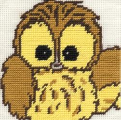 DMC Woodland Folk - Gobelin Starter Ollie Owl