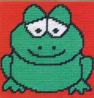 DMC Kid's Tapestry Kit - Groovy Frog