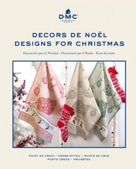 DMC Cross stitch book - Decors de Noel