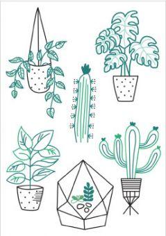 DMC DIY Style Kollektion Kaktus - FK100