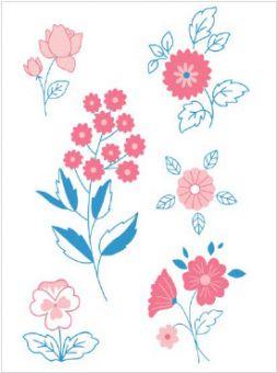 DMC DIY Style Kollektion Blumen - FK101