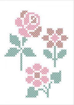 DMC DIY Style Kollektion Blumen - FK201