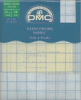 DMC - Waste Canvas - Ausziehleinen
