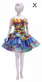 Dress Your Doll - Making Couture - Kleider Set - Maggy Candy