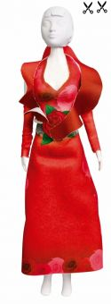 Dress Your Doll - Making Couture - Kleider Set - Red Roses