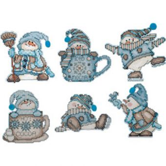 Design Works - Cocoa Snowmen