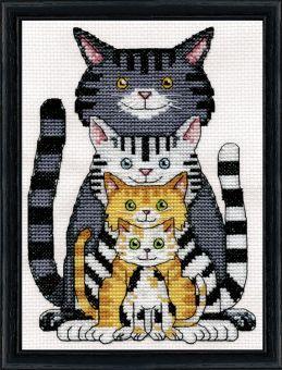 Design Works - Cat Family