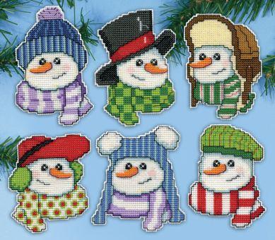 Design Works - Snowmen in Hats
