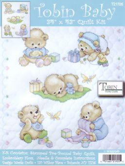 Tobin Baby - Baby Bears (Quiltdecke)