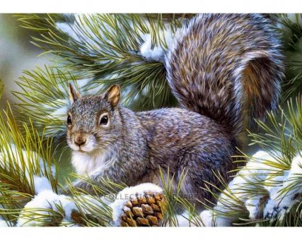 Diamond Painting Diamond Embroidery- Squirrel pup
