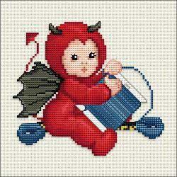 Ellen Maurer-Stroh - Little Stitch Devil With Bobbin
