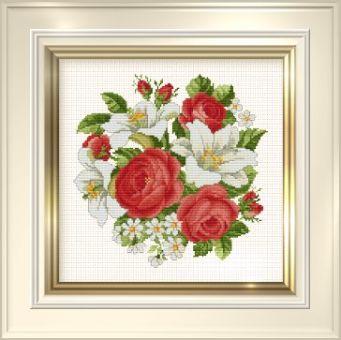 Ellen Maurer-Stoh  -  Roses and Lillies