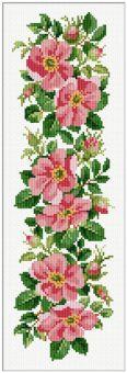 Ellen Maurer-Stroh - Wild Roses Border