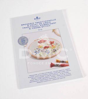 DMC Cross stitch book - Blumen der 4 Jahreszeiten