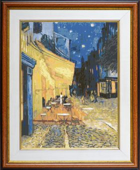 Expressions - Cafe terrace at night
