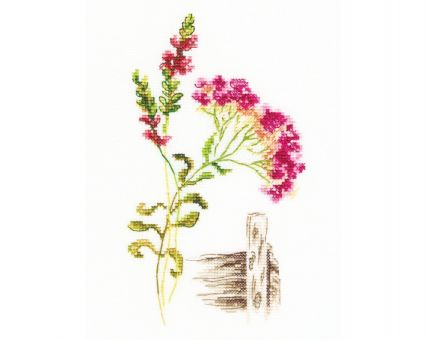 "RTO - Cross-stitch kits ""Bloomy herbs"""