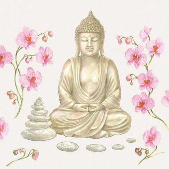 Ambiente Servietten - Buddha