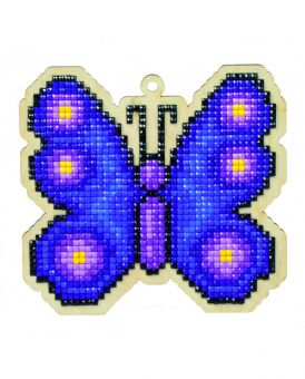 Diamond Painting Wizardi Wood Charms - BUTTERFLY