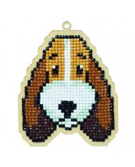 Diamond Painting Wizardi Wood Charms - DOG BUDDY