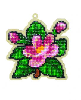 Diamond Painting Wizardi Wood Charms - FLOWER AROMA