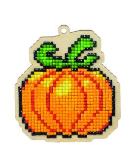 Diamond Painting Wizardi Wood Charms - PUMPKIN