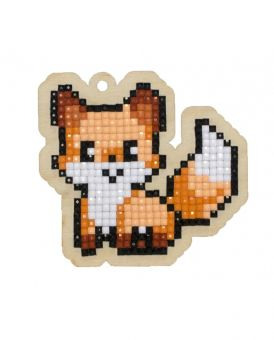 Diamond Painting Wizardi Wood Charms - FOX
