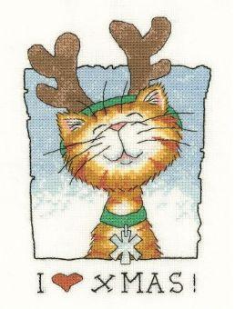 Heritage Stitchcraft - I Love Christmas