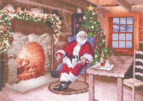 Heritage Stitchcraft John Clayton - Santa's Job Done