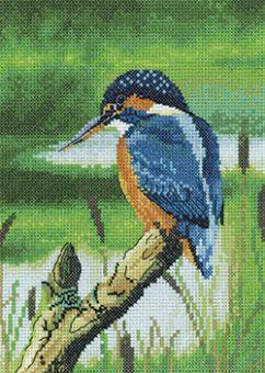 Heritage Stitchcraft - Kingfisher